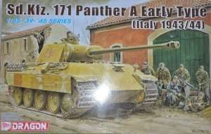 Model Dragon 6160 tank Sd.Kfz. 171 Panther A