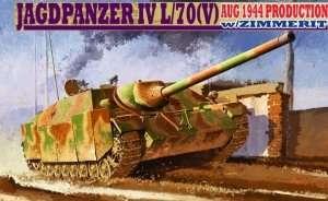 Model Dragon 6589 Jagdpanzer IV L/70(V) w/Zimmerit