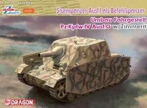 Model Dragon 6819 Sturmpanzer Ausf. I als Befehlspanzer