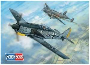 German fighter Focke Wulf FW 190A-5 scale 1:18