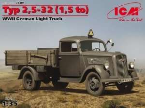 Model ICM 35401 Typ 2,5-32 German Light Truck