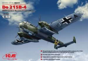 Model German Reconnaissance Plane Do 215B-4 in scale 1-48