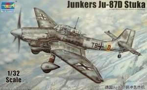 German Luftwaffe Ju-87D Stuka scale 1:32
