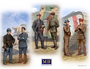 Model Master Box 35134 Tankmen of WWI era