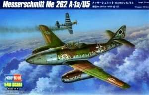 Hobby Boss 80373 Messerschmitt Me 262 A-1a/U5 in scale 1-48