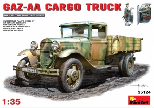 Model MiniArt 35124 GAZ-AA Cargo Truck