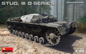 Model MiniArt 35210 Stug III 0-series