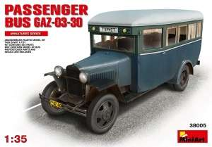 Model MiniArt 38005 Passanger Bus Gaz-03-30