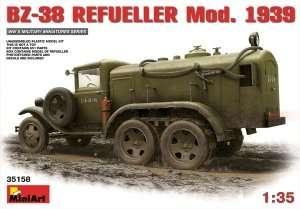 Model Miniart 35158 cysterna BZ-38 mod. 1939