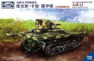 Model VCL Light Amphibious Tank A4E12 Early Production Riich CV35001