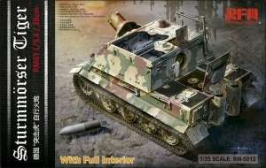 Model Rye Field Model RM-5012 Sturmmorser Tiger RM61 L/5,4 / 38 cm With Full Interior