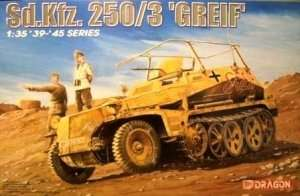 Sd.Kfz. 250/3 Greif - Dragon 6125 in scale 1-35