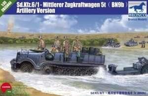 Sd Kfz 6 /1-Mittlerer Zugkraftwagen 5t (BN9b) Artillery Version 1:35