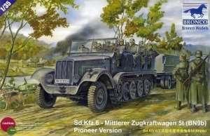 Sd.Kfz.6 Mittlerer Zugkraftwagen 5t 1:35