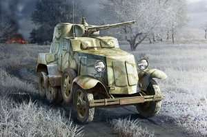 Soviet BA-10 Armor Car scale 1:35