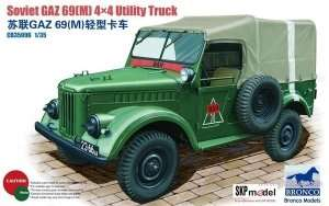 Soviet GAZ 69(M) 4X4 Utility Truck 1:35