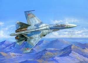 Hobby Boss 81711 - Su-27 Flanker B in scale 1-48