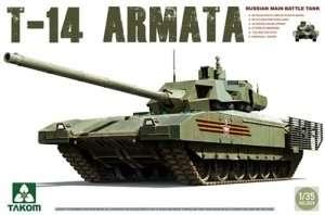 Russian Tank T-14 Armata in scale 1-35 Takom 2029
