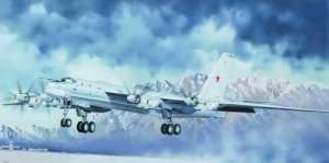 Tupolev Tu-95MS Bear-H model Trumpeter 01601 scale 1-72