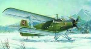 Model Trumpeter 01607 Dwupłatowiec Antonov AN-2 Colt on Skis