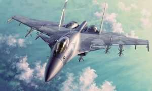 Russian Su-33 Flanker D in scale 1-72 Trumpeter 01667