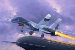 Su-33UB Flanker D in scale 1-72 Trumpeter 01669