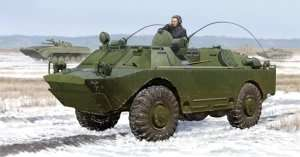 Russian BRDM-2UM in scale 1-35 Trumpeter 05514