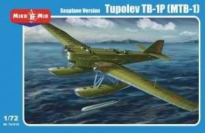 Tupolev TB-1P (MTB-1) floatplane scale 1:72