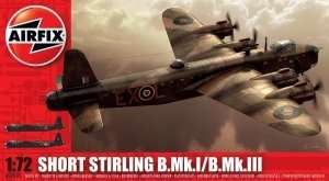 Bomber Short Stirling Mk.I/Mk.III scale 1:72