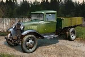 Soviet GAZ-AA Cargo Truck scale 1:35