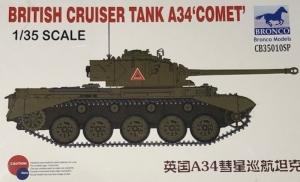 Model Bronco CB35010SP British Cruiser Tank A34 Comet SE