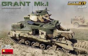 Model MiniArt 35217 Grant Mk.I w/interior