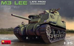 Model MiniArt 35214 tank M3 Lee Late production