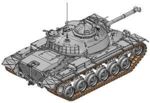 Model czołgu M67 Flamethrower Dragon 3584