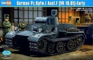 German Pz.Kpfw.I Ausf.F (VK18.01)-Early scale 1:35