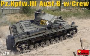 Model MiniArt 35221 PzKpfw 3 Ausf.B w/crew