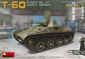 Soviet tank T-60 (Plant No37) early w/interior scale 1:35