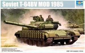 Soviet tank model T-64BV 1985 Trumpeter 05522