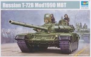 Russian tank T-72B Mod1990 Trumpeter 05564