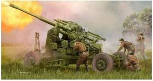 Trumpeter 02349 Soviet 100mm Air Defense Gun KS-19M2