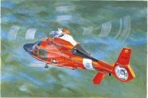 US Coast Guard HH-65C Dolphin Helicopter 1:35