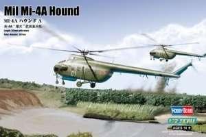 Soviet helikopter Mil Mi-4A Hound A scale 1:72
