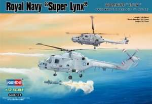 Royal Navy Super Lynx scale 1:72