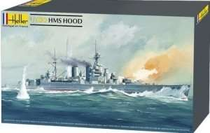 HMS Hood scale 1:400