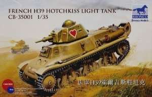 French H39 Hotchkiss Light Tank 1:35