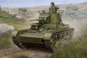 Soviet T-26 Light Infantry Tank Mod.1938 scale 1:35