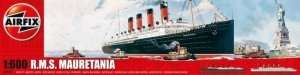 RMS Mauretania scale 1:600