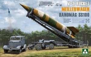 WWII German V-2 Rocket Transporter/Erector Meillerwagen+Hanomag SS100