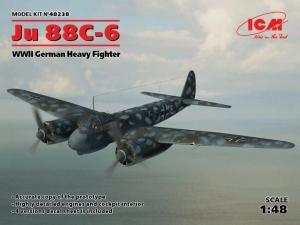 Model ICM 48238 Ju-88C-6 WWII German Heavy Fighter