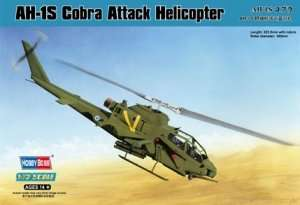 AH-1S Cobra Attack Helicopter scale 1:72